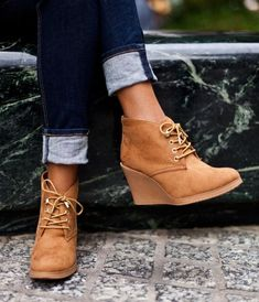 Wedges=comfort+style...best of both worlds!