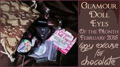 """My review (including swatches!) of my Glamour Doll Eyes Of the Month beauty subscription for February 2015 """"Any Excuse for Chocolate"""". So many amazing (and yummy!) goodies!   #thecharmingcheshire #bblogger #beautyblog #beauty #makeup #cosmetics #glamourdolleyes #gde #gdeotm #glamour #eyeshadow #browneyeshadow #chocolate #indiemakeup #nailpolish #nails"""