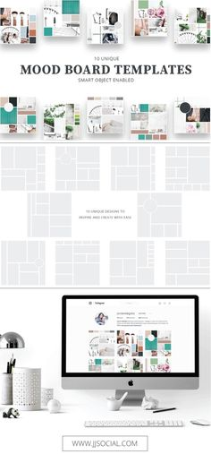 Mood Board Templates | Logo Design Inspiration | Brand Inspiration | Graphic Design Inspiration | Style Guide | Photographer Inspiration | Interior Designer Inspiration | Wedding Planning Inspiration