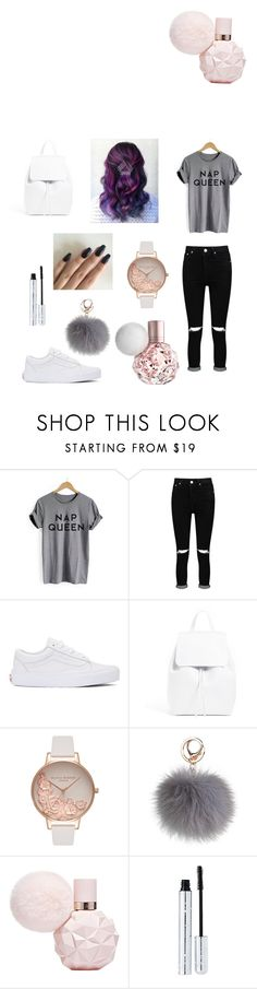 """Untitled #46"" by lucia-xd-1 on Polyvore featuring Boohoo, Vans, Olivia Burton and 100% Pure"