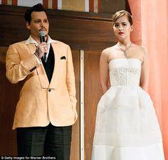 Leading stars: Johnny playsWhitey Bulger while Dakota portraysLindsey Cyr in the upcomin...