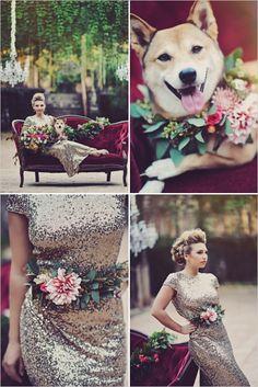 Gold glam wedding inspiration. Captured By: Tamiz Photography #weddingchicks http://www.weddingchicks.com/2014/10/09/gold-glam-wedding-inspiration/