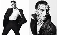 Vman Magazine, Dark Fashion, Mens Fashion, Men Photoshoot, Knee Up, Boss Black, Fashion Photography Inspiration, Glamour, Editorial Fashion