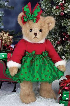 "Bearington Bears Hannah Holiday Bear 14"" $32.95"