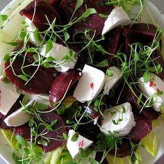 Honey Baked Beetroot Salad
