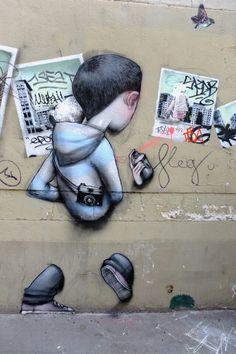 ღღ Seth + jana & js - street art - Paris 5 - rue de la clé