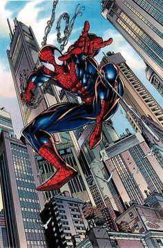 #Spiderman #Fan #Art. (Spiderman) By: Mark Bagley. AWESOMENESS!!! [THANK U 4 PINNING!!]