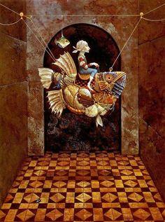 Surrealism and Visionary art: James C. Christensen