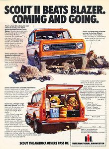 1977 IHC International Harvester Scout - Classic Vintage Advertisement Ad D150 | eBay