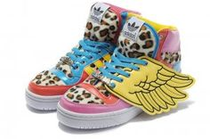 Adidas Jeremy Scott Wings 2NE1 Collage adidas jeremy scott wings shoes outlet…