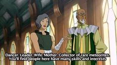 Suyin Beifong Description.