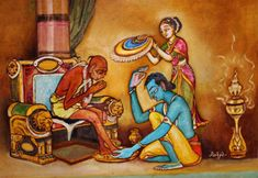 We are social animals, and we thrive on relationships. We need to connect with others, as we are deeply emotional beings. Our restless minds are forever analysing and judging everything around us. Be like Lord Krishna; he shared a pure form of friendship with his poor friend Sudama.  He loved all animals too.