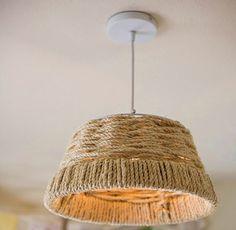 Home Ideas: Плетеный Светильник