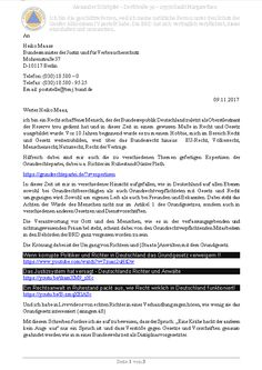 Eiserner Besen in der Justiz der BRD – Mein Schreiben an den Justizminister