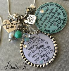 Items similar to I'll love you forever I'll like you for always, Mother of BRIDE gift, Mother of GROOM gift, PERSONALIZED key chain blessed to be her husband on Etsy Mother Of Bride Gifts, Mother Of The Bride, Mom Quotes From Daughter, Gifts For Your Mom, Wedding Keepsakes, Love Charms, Sentimental Gifts, Love You Forever, Custom Jewelry
