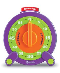 Look what I found on #zulily! 60-Second Jumbo Timer by Learning Resources #zulilyfinds