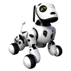 Our recos for the hottest holiday tech gifts for kids includes the Zoomer Robot Dog which our kids CANNOT stop asking for.