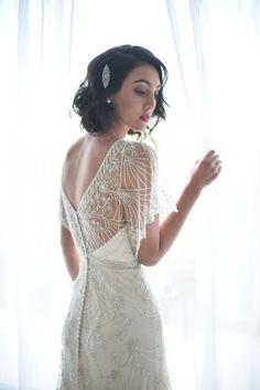 wedding dress; photo: David Newkirk