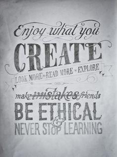 create. look. read. explore. make. learn.