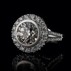 Engagement Ring... #unique #wedding #love #engagementring #accessories #diamonds