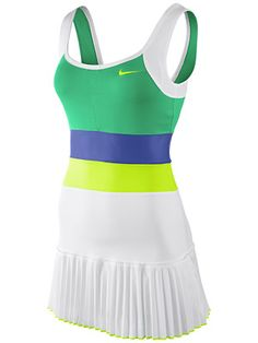 New for Spring: Nike Women's Force Pleated Knit Dress Girls Tennis Dress, Tennis Wear, Sports Skirts, Fitness Design, One Piece For Women, One Piece Dress, Sport Wear, Knit Dress, Sport Outfits
