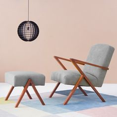 Seating with a Mid-Century Aesthetic
