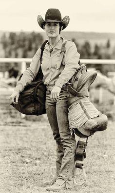 Cowgirl Bronc Rider - COWGIRL Magazine