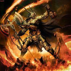22 Amazing Hades Illustrations - The God of Underworld