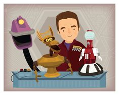 Hang this up in your own satellite of love to make all your robot friends jealous!This print features the gang from Mystery Science Theater 3000 with Joel Hodgson.Frame not included. Crow T Robot, Satellite Of Love, Mystery Science, Bart Simpson, Pop Culture, Sci Fi, Digital Art, Nerd, Etsy Seller
