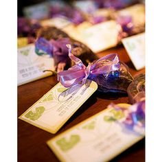 potpourri bags in mini wedding tulle bags. can buy the tulle bags from walmart?
