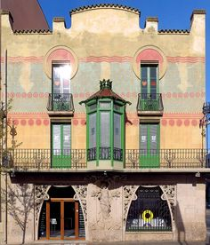 Casa Blanchart  1904  Architect: Jeroni Martorell i Tarrats