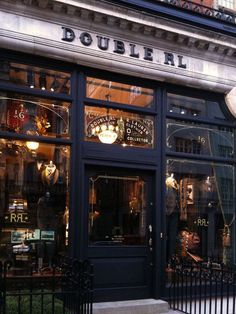 Double RL store in London's Mayfair.