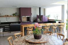 Áreas de churrasco decoradas + 10 tipos de churrasqueiras!