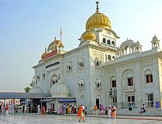Langar - The Free Kitchen at the Sikh Temple Gurudwara Bangla Sahib Delhi, India @Worldette