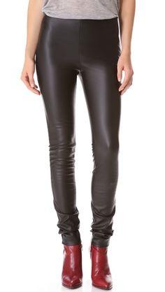 9f75d743d8ffd M Missoni Faux Leather Leggings Black M, Blank Denim, Rocker Look, Lingerie  Party