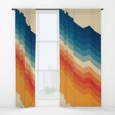 Shop window curtains in two different styles - sheer window curtains and blackout window curtains. Find them in an array of designs to match your decor style. Blackout Windows, Blackout Curtains, Window Curtains, Fall Living Room, 70s Decor, New Room, Home Interior Design, Decor Styles, Blinds Ideas