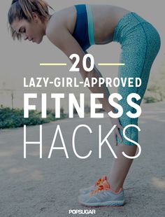 20 lazy-girl-approved tips keep you on track all Winter long. #workout #fitness