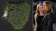 Angelina Jolie regala a Brad Pitt un'isola a forma di cuore | Angelina regala un'isola a forma di cuore a Brad Pitt - Yahoo omg! Italia .... adoro le opere di Frank Lloyd Wright! Beati :D