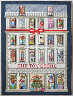 The Toy Store Advent Calendar Kit By Kirk & Bradley