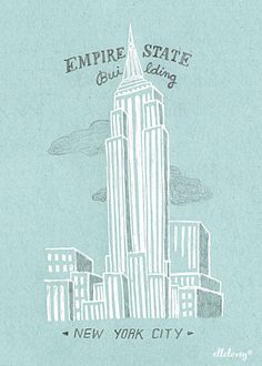 Empire State  by ellolovey on Etsy