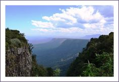 This photo from Mpumalanga, East is titled 'God's Window'. Places Ive Been, Places To Go, Kruger National Park, Afrikaans, Africa Travel, Study Abroad, South Africa, Beautiful Places, Road Trip