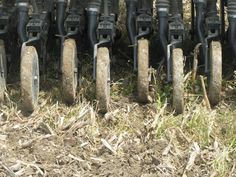 Drilling Oats at Wabash Farm.    photo credit:  Wabash Co SWCD