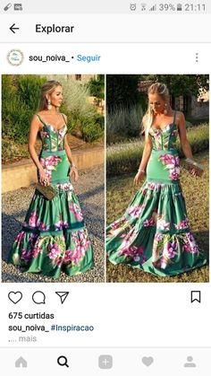 Cute Floral Dresses, Unique Dresses, Sexy Dresses, Summer Dresses, Modern Fashion Outfits, Boho Fashion, Fashion Dresses, Moda Outfits, Chic Outfits