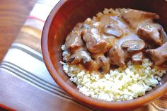 """This Slow Cooker Beef Stroganoff has a tender flavorful beef with a creamy mushroom sauce for a simple yet tasty weeknight meal. Serve it over cauliflower rice for a complete meal. Click here to see the full recipe Get Your FREE """"10 SECRETS TO EASY DAILY DETOXING"""" eBook! Lose WeightGet …"""