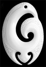 Koru Bone Carving