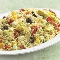 Greek Santorini Couscous Salad