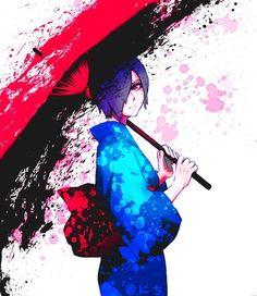 Tokyo Ghoul (35x40 cm  14x16 inch) Poster Affiche de la Soie High Quality Silk Print Poster Affiche de la Soie - C-LD9EB5