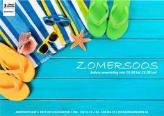 Flyer voor de Zomersoos bij Dance Centre Omar Smids