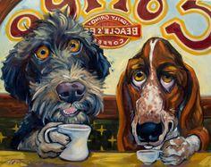 Dog & Puppy Art  -  Connie Townsend