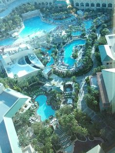 Mandalay Bay Hotel, Pools, lazy river, wave pool, relaxation and fun in the sun.